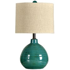 "21.5"" Table Lamp with Drum shade"