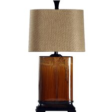 "Cinnaban 31.5"" H Table Lamp with Drum Shade"
