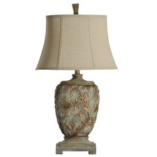 """30"""" H Table Lamp with Bell Shade"""