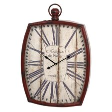 "Oversized Antique 28.75"" Wall Clock"