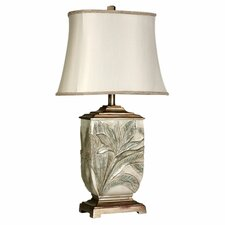 "Mcnaught 27.5"" H Table Lamp with Bell Shade"
