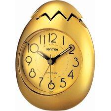Golden Egg Alarm Clock