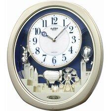 Silver Joyful Land Wall Clock