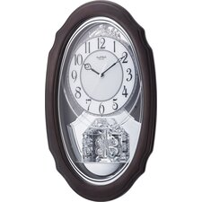 Crystal Hearts Wall Clock