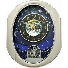 Peaceful Cosmos Wall Clock