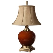"""Daviel 31"""" H Table Lamp with Bell Shade"""