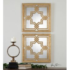 Piazzale Square Mirror (Set of 2)