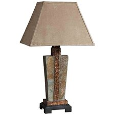"Slate 29"" H Table Lamp with Empire Shade"