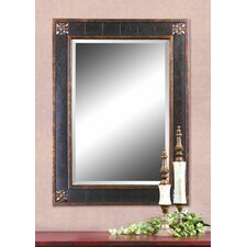 Bergamo Rectangular Beveled Vanity Mirror