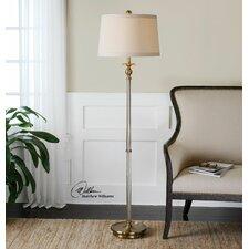Vairano Glass Floor Lamp
