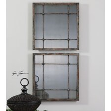 Saragano Square Wall Mirror (Set of 2)