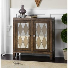 Trivelin Wooden Accent Cabinet