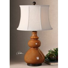 """Belfast 31"""" H Table Lamp with Bell Shade"""