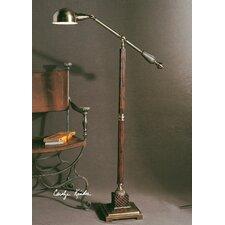 Burnished Wood Dalton Floor Lamp