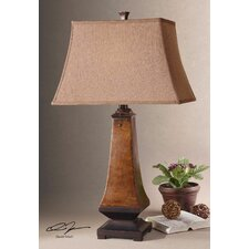 "Caldaro 30"" H Table Lamp with Bell Shade"