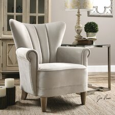 Franchette Butterfly-Back Arm Chair