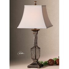 "Anacapri 31"" H Table Lamp with Bell Shade"