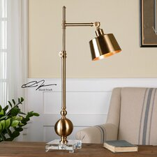 """Laton 33.25"""" H Table Lamp with Drum Shade"""
