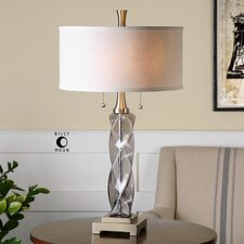 """Spirano 28.5"""" H Table Lamp with Drum Shade"""