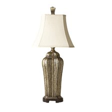"""Sachiel Tall 32"""" H Table Lamp with Bell Shade"""