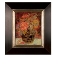 Floral Bunda by Holman Painting Print on Shadow Box