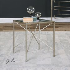 Silvana Antiqued End Table