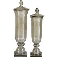 2 Piece Gilli Decorative Urn Set