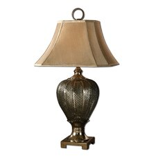 "Cupello 33"" H Table Lamp with Bell Shade"