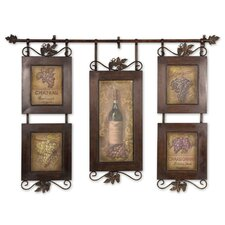 Hanging Wine Wall Décor