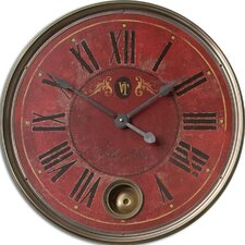 "Regency Oversized 23"" Villa Tesio Wall Clock"