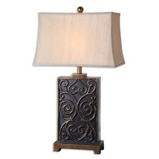 """Lavinta 33"""" H Table Lamp with Rectangular Shade"""