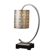 """Faleria 24"""" H Table Lamp with Drum Shade"""