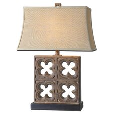 """Vettore 28.25"""" H Table Lamp with Rectangular Shade"""