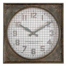 "Oversized 26"" Warehouse Wall Clock"