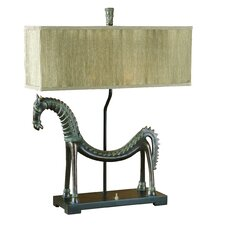 "Tamil 30"" H Table Lamp with Rectangular Shade"