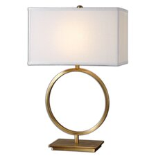 """Duara 28.75"""" H Table Lamp with Rectangular Shade"""