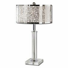 """Lucius 29"""" H Table Lamp with Drum Shade"""
