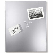 Percetto Wall Mounted Magnetic Whiteboard