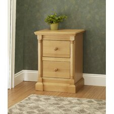 Imperial 2 Drawer Nightstand