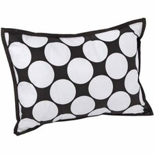 Dots/Pin Stripes Decorative Cotton Boudoir/Breakfast Pillow