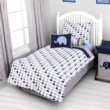 Elephants 3 Piece Toddler Sheet Set