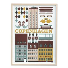 Copenhagen Unframed Vintage Advertisement