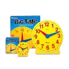Big Time Clock Student 12 Hr 5 Educational Tool (Set of 2)