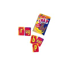 Snap It Up Phonics and Reading Snap Letters