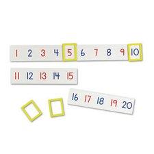 24 Piece Magnetic Line Numbes Set