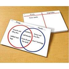 Venn Diagram Write and Wipe Notepad