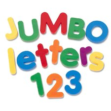 36 Piece Jumbo Magnetic Pack Letters and Numbers