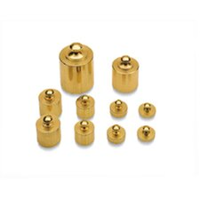 10 Picec Brass Mass Precision  Set