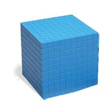 Base Ten Cube Plastic