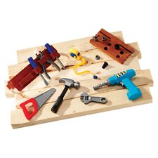 Pretend and Play 20-Piece Work Belt Tool Set